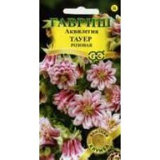 Цветок Аквилегия Тауер розовая 10шт. сер. Элитная клумба
