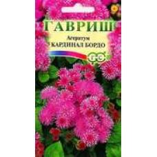 Цветок Агератум Кардинал бордо 0,1г сер.Сад ароматов