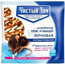 ЧД Зерновая приманка от крыс и мышей 200г (50шт/кор.)