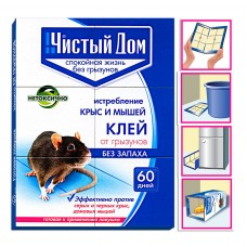 ЧД Ловушка клей от грызунов (40гр)