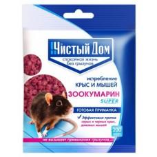 ЧД Гранулы Зоокумарин Супер (пак.200 гр)