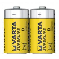 Батарейка Varta R20 толстая (2шт.)