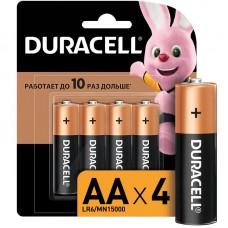 Батарейка Duracell Alkaline пальч R6 (блист.4шт.)
