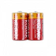 Батарейка Kodak R20 толстая (2шт.)