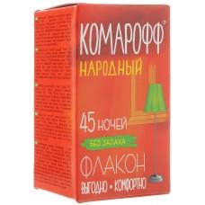 КОМАРОФФ Жидкость без запаха 45 ночей фл.30мл НАРОДНЫЙ