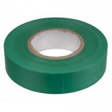Изолента ПВХ 15мм*20м 120мкм зелёная, кратно 5
