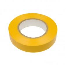 Изолента ПВХ 15мм*20м 120мкм жёлтая, кратно 5