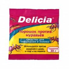 DELICIA Порошок-приманка 30гр для борьбы с муравьями