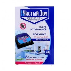 ЧД Ловушка инсектицидная от тараканов(уп.6шт.) 50уп/кор.