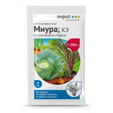 Миура 4мл против злак.сорняк.в посадк.капусты,лука,морк.,картоф.