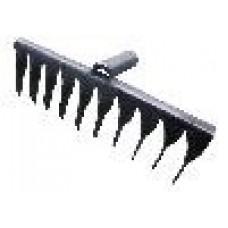 Грабли 10-ти зубые (2.5мм) витые б/черенка