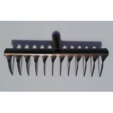 Грабли 12-ти зубые (3мм) витые б/черен. усиленные