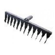 Грабли 12-ти зубые (2.5мм) витые б/черен. ГВ-12