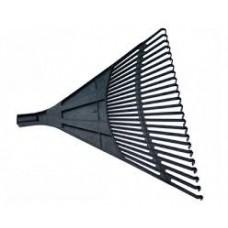 Грабли веерные 24-ех зубые б/черен.пластмас.(610х540мм)