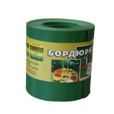 Бордюрная лента.L-9м Н-20см (зеленая)