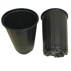 Горшок для рассады 2,0л  Д14МР h-190мм (черный) Роза