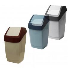 Ведро для мусора 15л с плав.крышкой