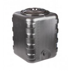 Бак для душевой 150л (квадратный)черный
