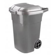 Бак для мусора 65л на колёсах