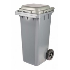 Бак для мусора 120л на колёсах