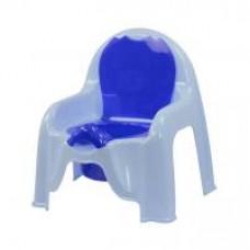 Горшок-стульчик (голубой)