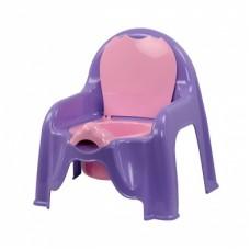 Горшок-стульчик (светло-фиолетовый)