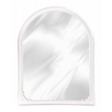 Зеркало в рамке (495х390) (белый)