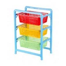 Этажерка 3 секц для игрушек (450х310х640)