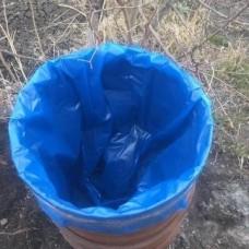 Мешок вкладыш в бочку (950х1500х0,15) (уп.5шт.голубой)