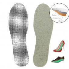 Стельки для обуви ЗИМНИЕ (войлок+фольга)(р.36-46) FREGRADA