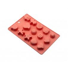 Форма для выпечки силиконовая №1  14 кексов 20х1,5см