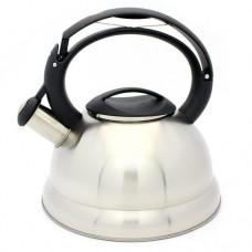 Чайник 3,0л со свист.нерж.сталь индукция