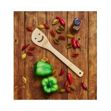 Лопатка кулинарная из бамбука Улыбка