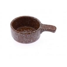 Кокотница-жульенница 0,15л (мрамор коричневый)