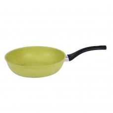 Сковорода 240мм с ручкой АП Trendy style (lime)