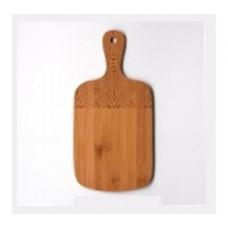 Доска разделочная из бамбука с ручкой №7 330х160х10мм