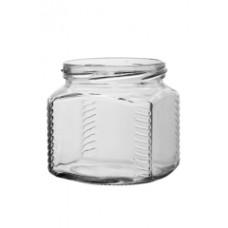 Банка стекло ТВИСТ 390-82 Квадрат Кратно 28