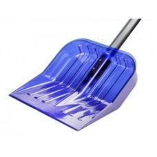 Лопата для снега 430х420см из поликарб.с черенк.(синий)
