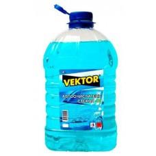 Автоочиститель стекол,зимний (-10) 4л VEKTOR  (КРАТНО4)