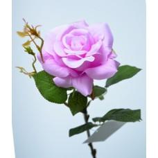 Роза одиночная фиолетовая h-78см  арт.16-0079