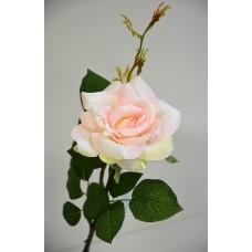 Роза одиночная персиковая h-78см  арт.16-0080