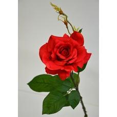 Роза одиночная красная h-78см  арт.16-0081