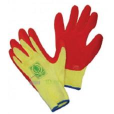 Перчатки х/б полуобливные уплотненные 96гр  (12)