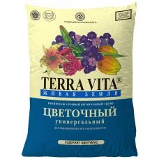 Грунт Живая земля Цветочная 10л Terra Vita
