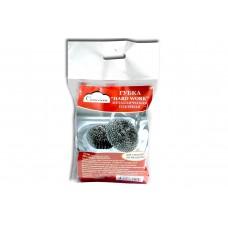 Губка плетёная из оцинкованной стали для сильных загрязнений Cameriera